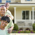 attractive african american family in front of home stock photo © feverpitch