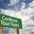 Confront Your Fears Green Road Sign stock photo © feverpitch
