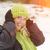 mulher · atraente · neve · inverno · dia · sorrir - foto stock © feverpitch