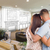 Young Military Couple Inside Custom Room and Design Drawing stock photo © feverpitch