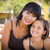 Attractive Mother and Daughter Portrait at the Pumpkin Patch stock photo © feverpitch