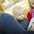 boldog · gyermek · olvas · könyv · kint · fű - stock fotó © feverpitch