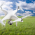unmanned aircraft system uav quadcopter drone in the air over stock photo © feverpitch