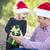 父 · 小さな · 娘 · クリスマス · ギフト · 幸せ - ストックフォト © feverpitch