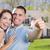 jeunes · militaire · couple · belle - photo stock © feverpitch