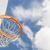 absztrakt · közösség · kosárlabda · net · kék · ég · égbolt - stock fotó © feverpitch