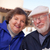 boldog · idős · felnőtt · pár · felfelé · kint - stock fotó © feverpitch