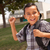 feliz · jóvenes · hispanos · nino · listo · escuela - foto stock © feverpitch