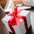 scatola · regalo · tasti · due · perla · gioielli · pizzo - foto d'archivio © feverpitch