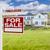 uitsluiting · home · verkoop · teken · groot · huis - stockfoto © feverpitch