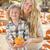 vonzó · családi · portré · sütőtök · folt · rusztikus · ranch - stock fotó © feverpitch