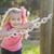 aranyos · fiatal · lány · portré · park · kívül · nyár - stock fotó © feverpitch