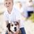 красивый · играет · собака · пляж · счастливым - Сток-фото © feverpitch