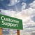 customer support green road sign stock photo © feverpitch