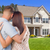 Military Couple Looking at Nice New House stock photo © feverpitch