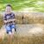 cute · młodych · chłopca · siano - zdjęcia stock © feverpitch