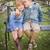 gelukkig · jonge · broer · zus · vergadering · samen - stockfoto © feverpitch