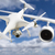 unmanned aircraft system uav quadcopter drone in the air too c stock photo © feverpitch
