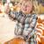 Cute Little Boy Gives Thumbs Up at Pumpkin Patch stock photo © feverpitch