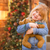 girl holding teddy bear in front of decorated christmas tree stock photo © feverpitch