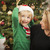 young mother and baby son christmas portrait stock photo © feverpitch