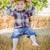 młodych · chłopca · śmiechem · na · zewnątrz - zdjęcia stock © feverpitch