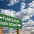 public or private school green road sign over sky stock photo © feverpitch