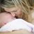 jóvenes · hermosa · madre · precioso · recién · nacido - foto stock © feverpitch