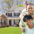 african american family in front of beautiful house stock photo © feverpitch