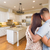 Young Hopeful Military Couple Looking At Custom Kitchen stock photo © feverpitch