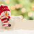 aranyos · hóember · fehér · kártya · absztrakt · sál - stock fotó © feverpitch