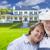 feliz · casal · de · idosos · casa · atraente · mulher - foto stock © feverpitch