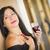 aantrekkelijk · latino · buiten · genieten · wijn - stockfoto © feverpitch