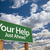 help · sostegno · cartello · parole · consiglio - foto d'archivio © feverpitch