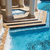 water · marmer · stappen · natuur · tuin · steen - stockfoto © feverpitch