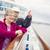 genieten · dek · cruiseschip · gelukkig - stockfoto © feverpitch