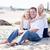 bello · papà · cute · spiaggia · ritratto · felice - foto d'archivio © feverpitch