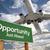 Califórnia · verde · placa · sinalizadora · avião · acima · dramático - foto stock © feverpitch