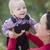 weinig · baby · jongen · buitenshuis - stockfoto © feverpitch
