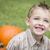 ребенка · осень · счастливым · улыбаясь · желтый - Сток-фото © feverpitch