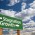 успех · провал · зеленый · дорожный · знак · скопировать · комнату - Сток-фото © feverpitch