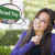 Young Woman with Thought Bubble of Road Trips Green Sign  stock photo © feverpitch
