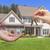 ház · kulcsok · új · otthon · gyönyörű · kéz - stock fotó © feverpitch