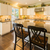 beautiful custom kitchen interior stock photo © feverpitch