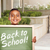 jongen · terug · naar · school · krijt · boord · school - stockfoto © feverpitch