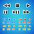 メディア · アイコン · 色 · デザイン · マイク · にログイン - ストックフォト © filip_dokladal