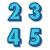 vecteur · rétro · alphabet · bleu · propre · 3D - photo stock © filip_dokladal