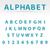 vecteur · résumé · alphabet · bleu · nombre · lettre - photo stock © filip_dokladal