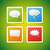 vector speech bubbles icons stock photo © filip_dokladal