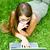 girl outside with laptop stock photo © filmstroem